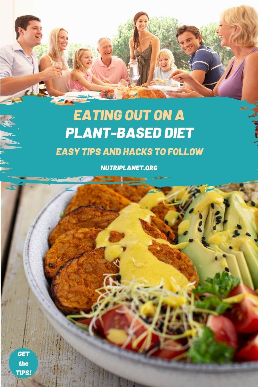 Easy tips and hacks for eating out on plant-based diet. Eating out as a vegan doesn't have to be hard!