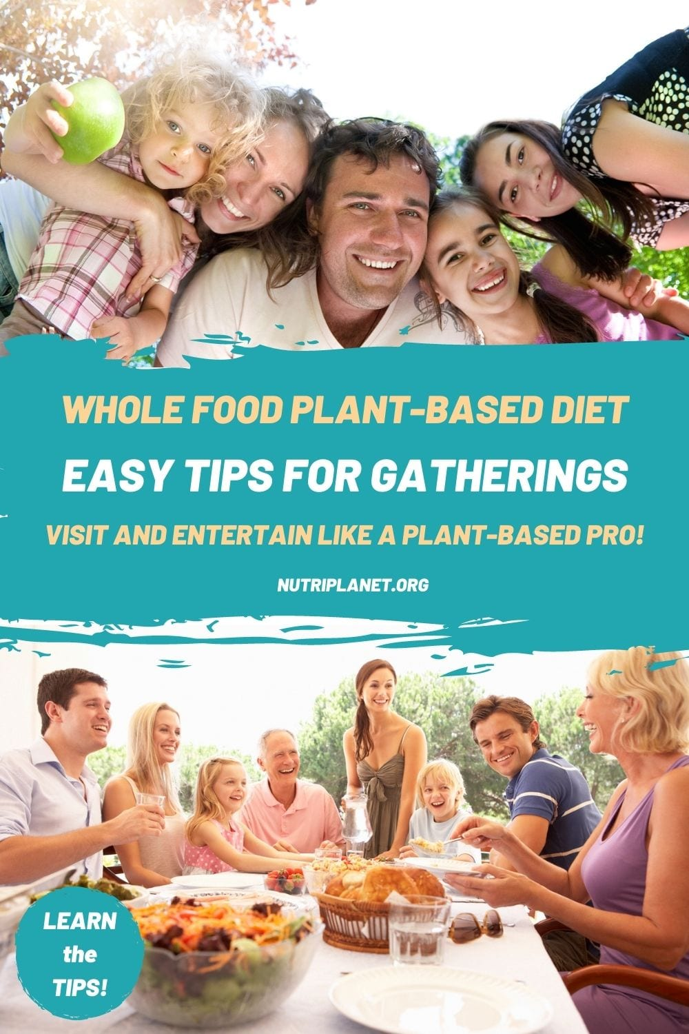 Learn a few easy tips on gatherings while eating a whole food plant-based diet