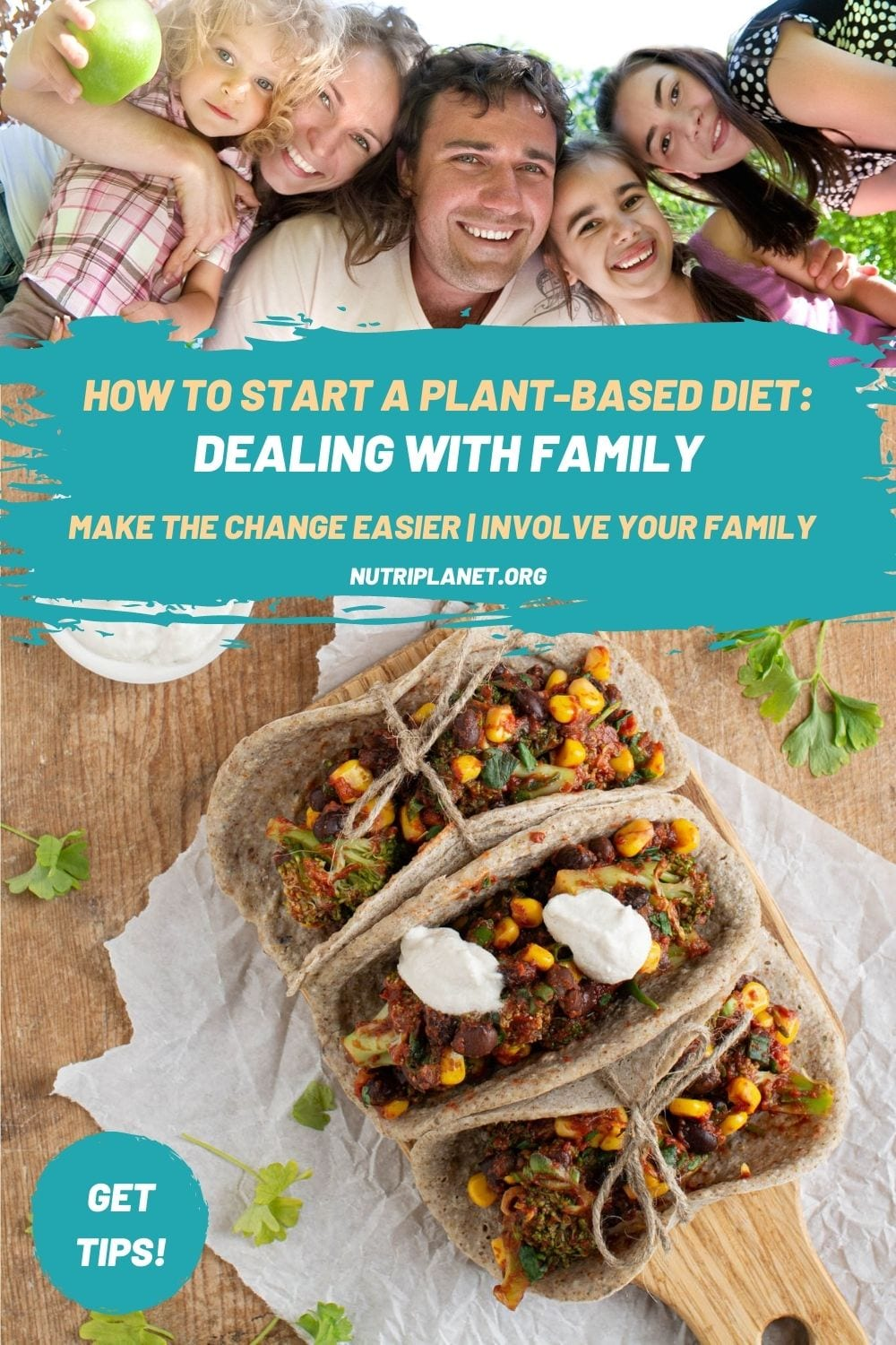 Learn how to start a plant-based diet when your family is not on board.
