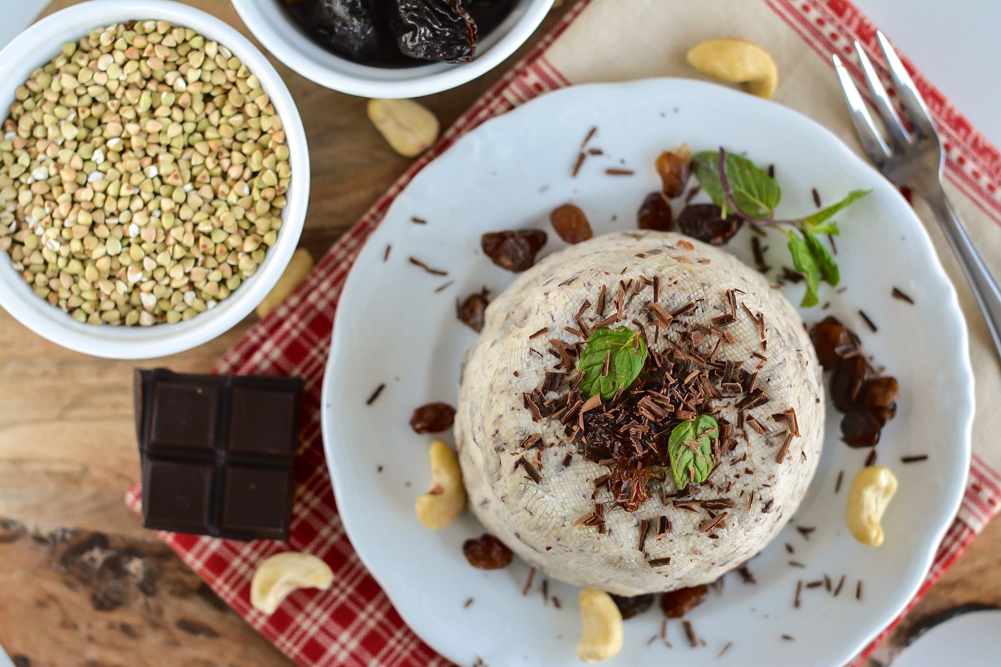 Plant-Based Easter Cheesecake Pascha