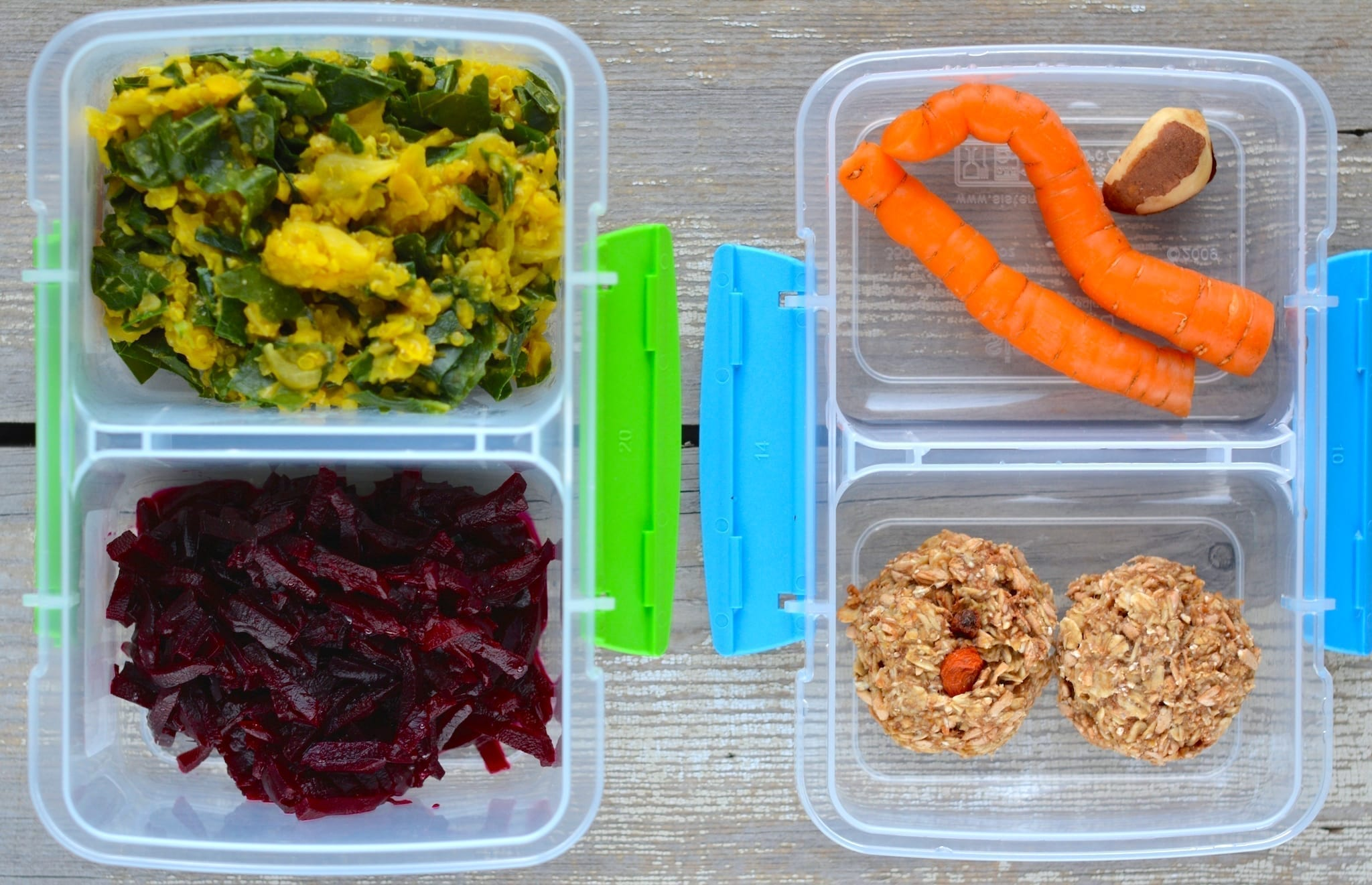 Plant-Based School Lunch Boxes
