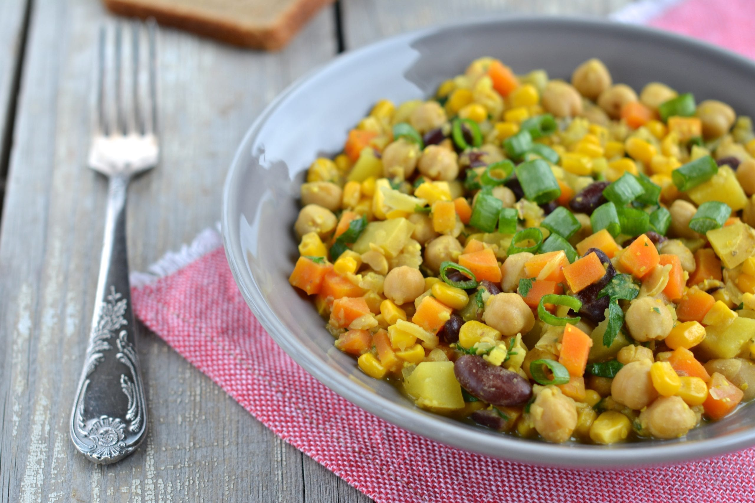 Chickpea-Red Bean Ste