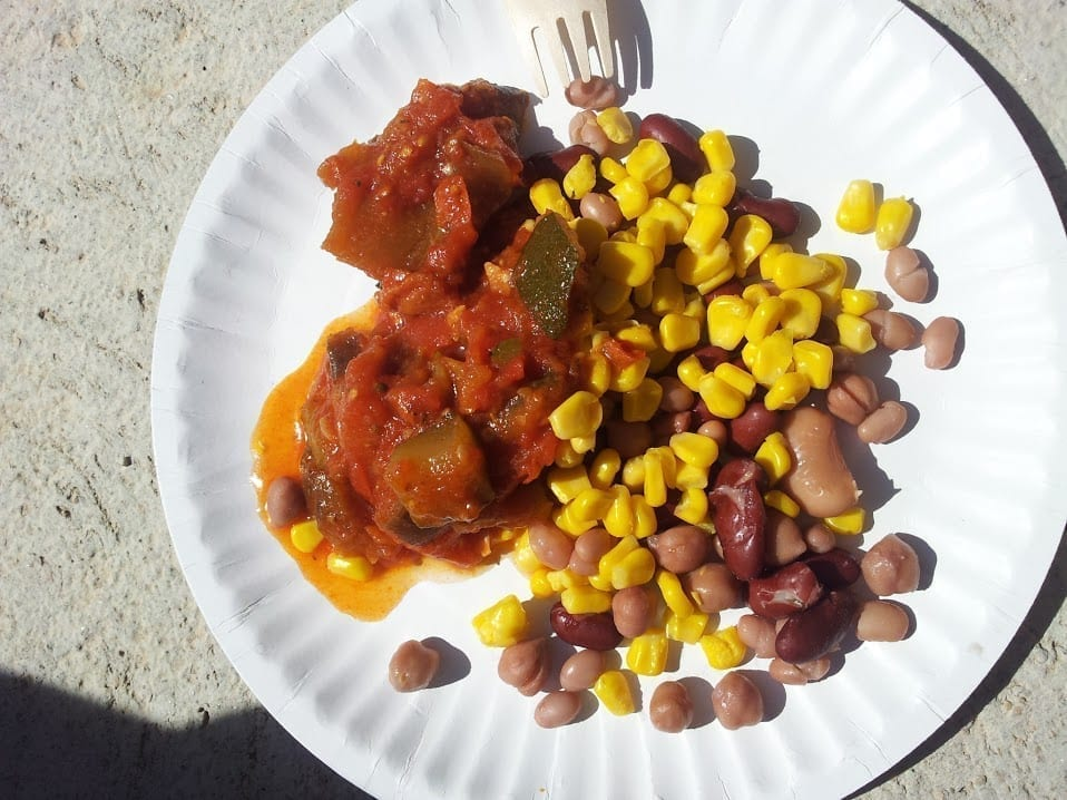 Ratatouille with Beans and Corn