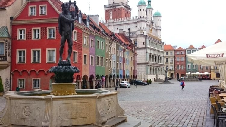 Poznan Town Hall Square