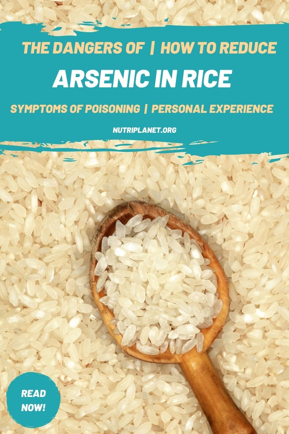Learn the dangers of arsenic in rice, what are arsenic poisoning symptoms and how to reduce arsenic in rice. My personal experience shows that the problem is real!