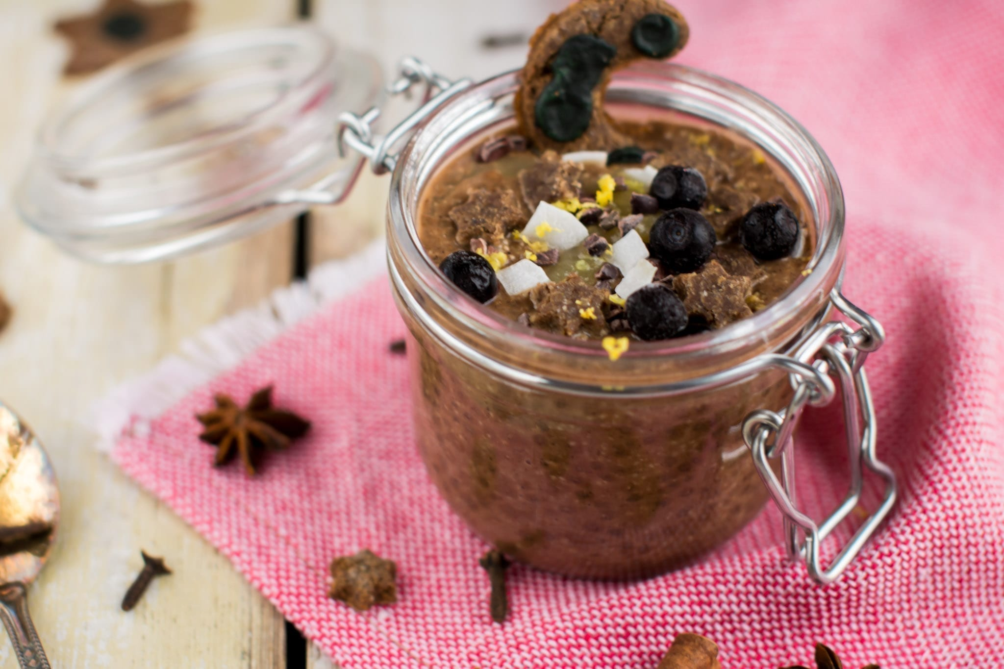 vegan candida cleanse meal plan chia pudding with carob
