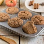 Low Fat Vegan Apple Cinnamon Muffins