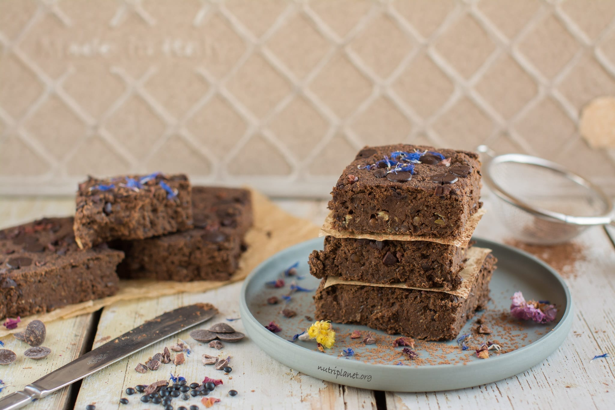 Vegan Paleo Brownies