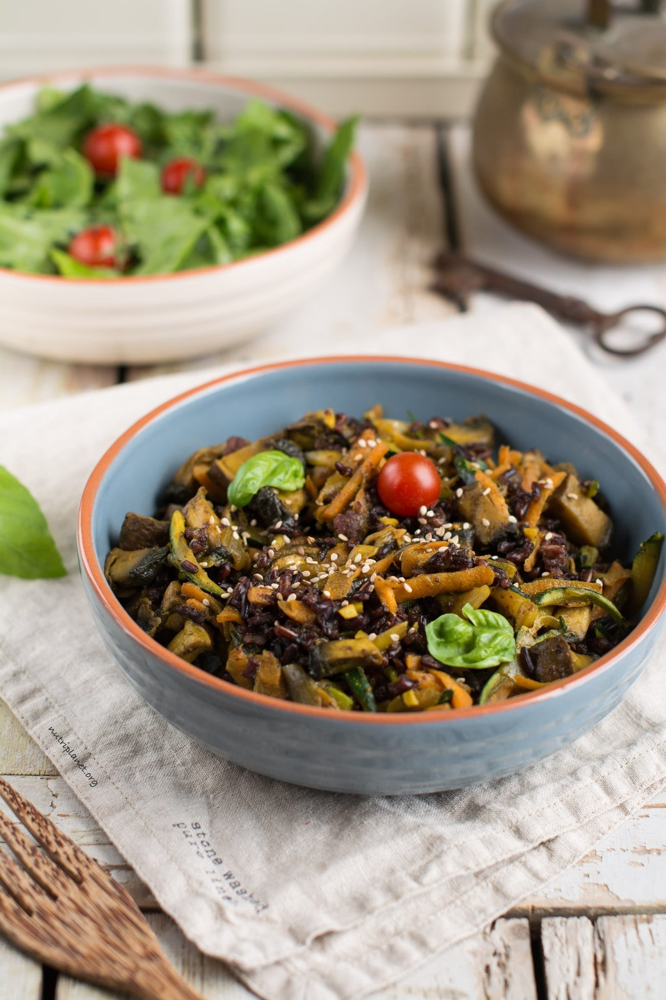 Quick and Easy Veggie Stir Fry with Mushrooms