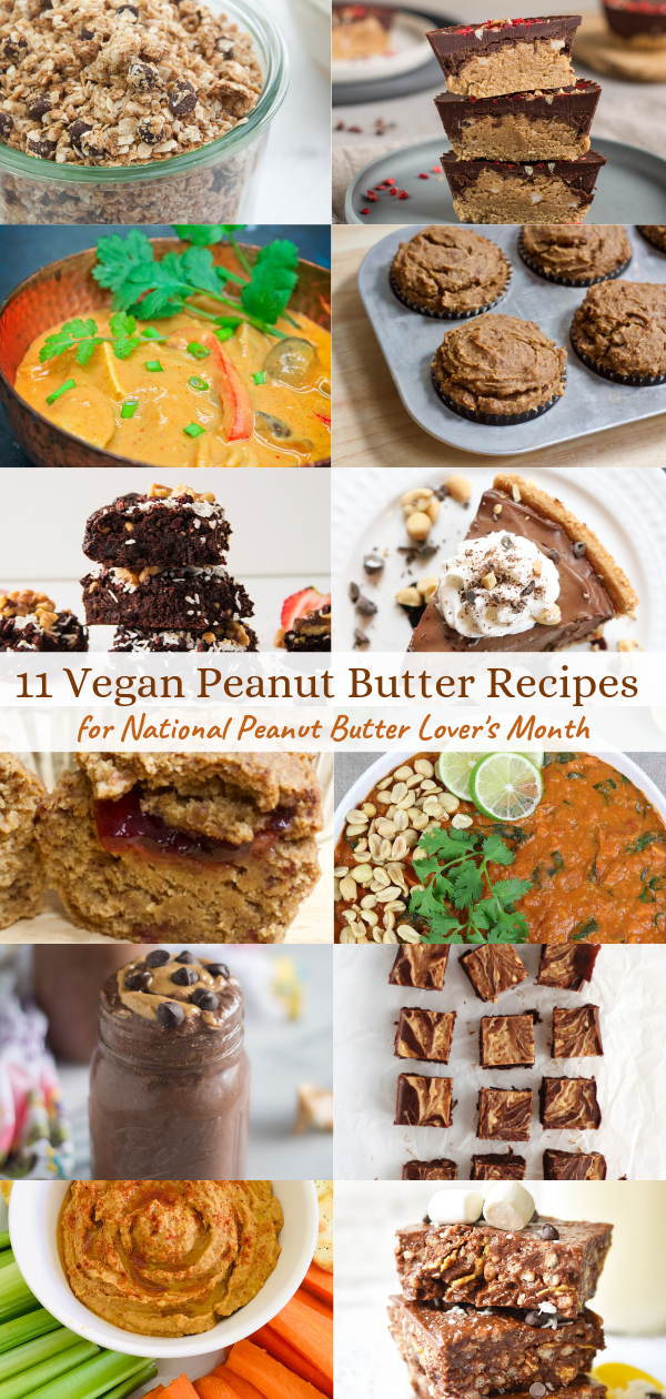 11 Sweet and Savoury Peanut Butter Recipes