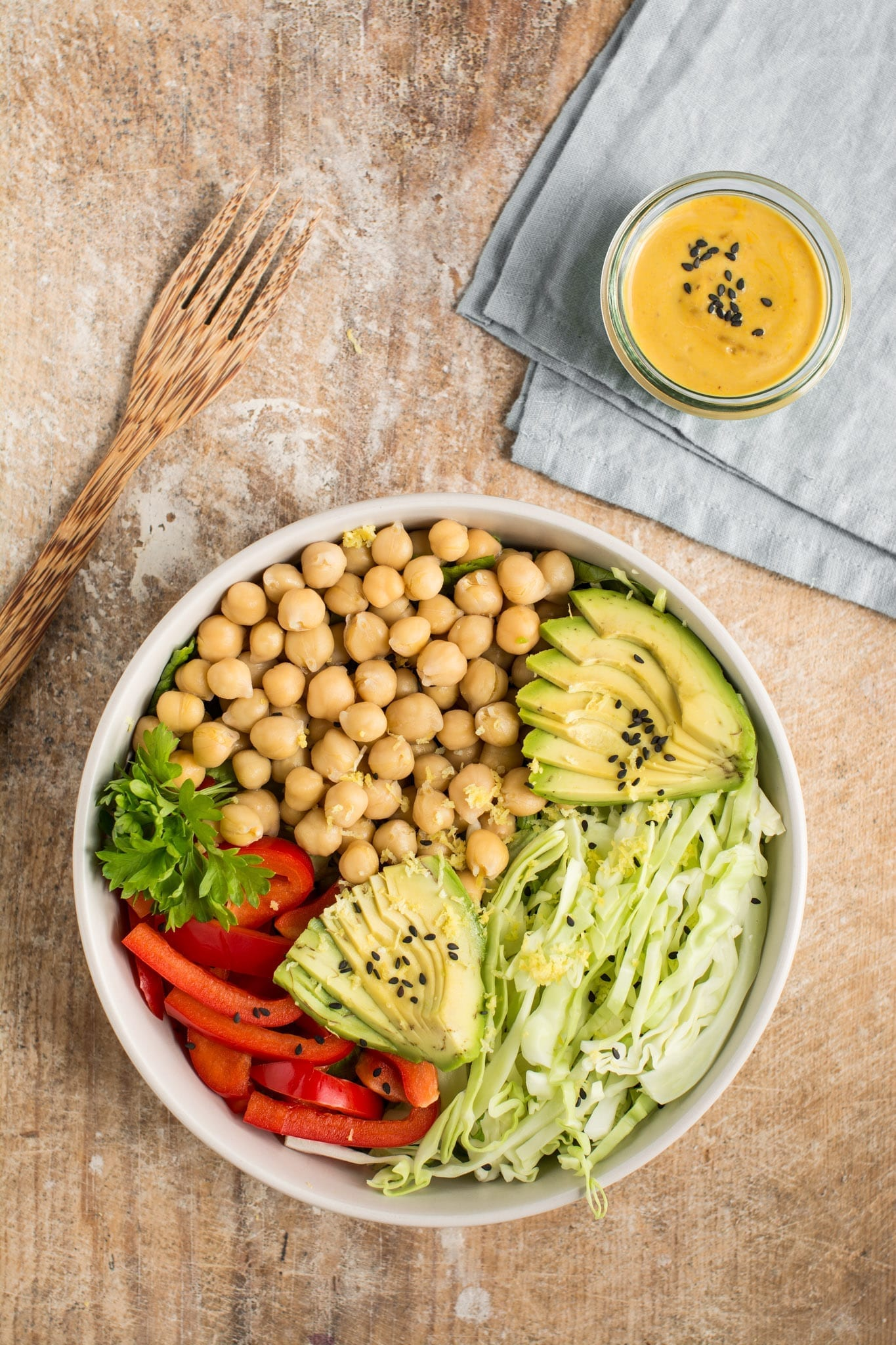 Dr. Greger's Daily Dozen meal plan Lunch Buddha Bowl