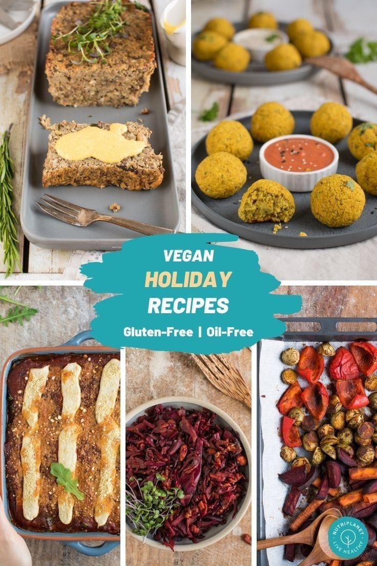 Learn how to make 12 healthy vegan holiday recipes that everyone will love!