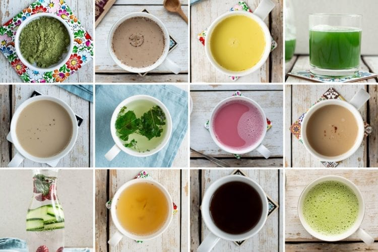 Learn how to make hot and cold healthy drinks on Candida diet that taste delicious and nourish your body.